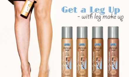 GET A LEG UP WITH LEG MAKEUP