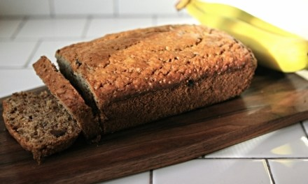 THE BEST CHOCOLATE CHIP BANANA LOAF EVER!