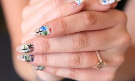 DIY GRAFFITI NAILS