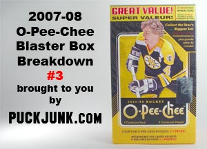 2007-08 OPC blaster box break #3