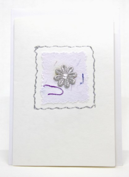 A handmade collage greeting card for all occasions.