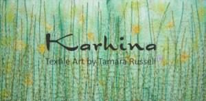 Textile art by Tamara Russell - karhina.com