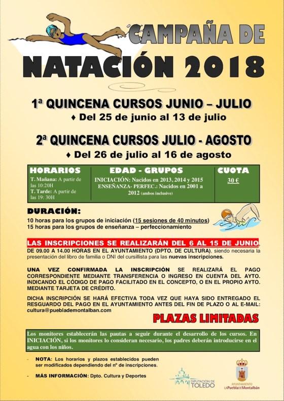349d24677 Cursillos de natación 2018 – La Puebla de Montalbán (Toledo)