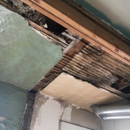 that's the kitchen ceiling before.