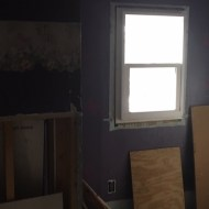 New windows in the recording room