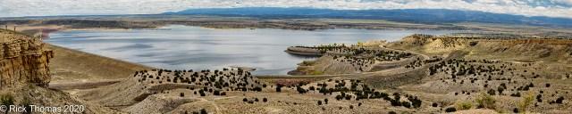 Pueblo Reservoir from Liberty Point