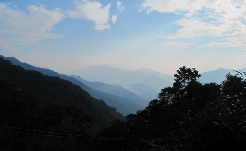 mountain view near yiwu
