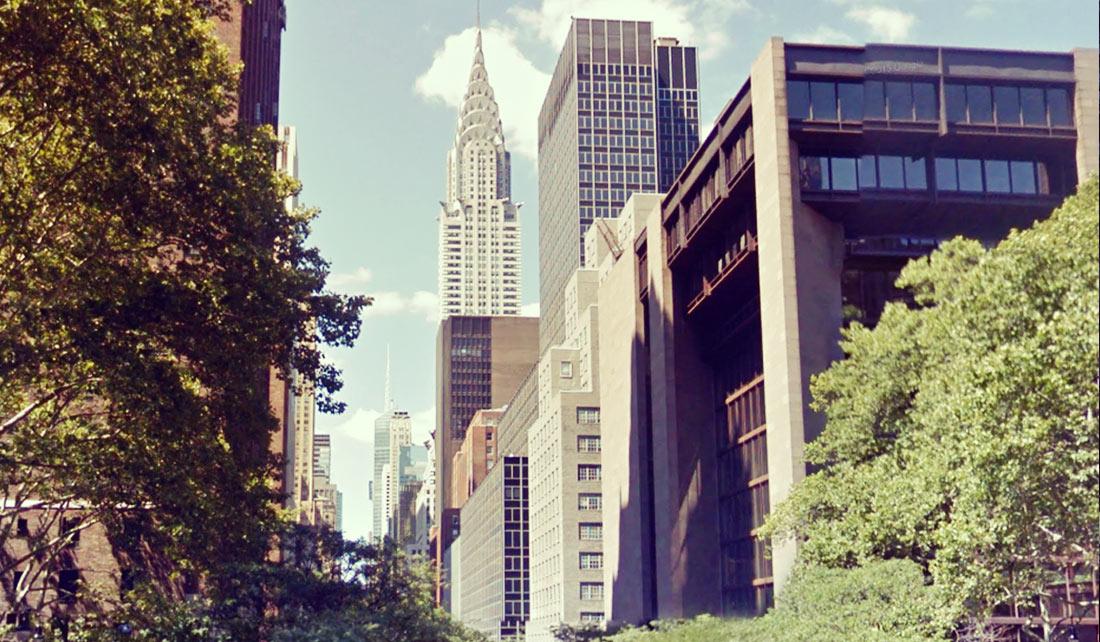 Chrysler Building desde lejos