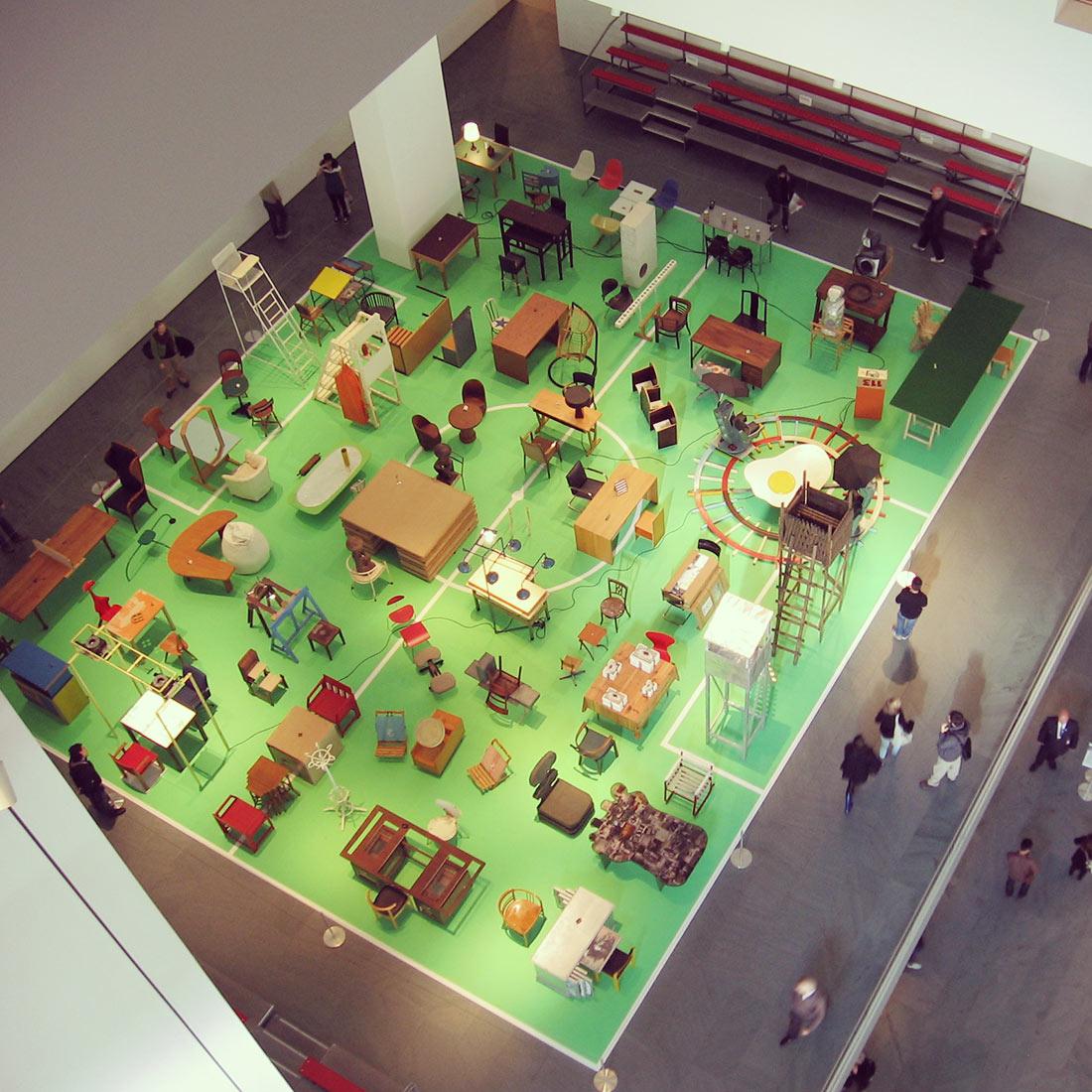 Muestra en el Museo de Arte Moderno de Nueva York