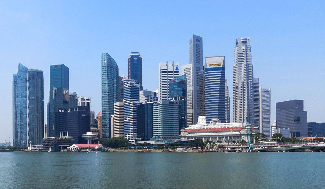 Silueta de Singapur