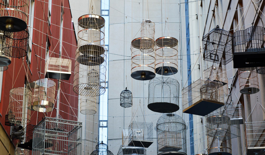 CBD Angel Place Birdcages