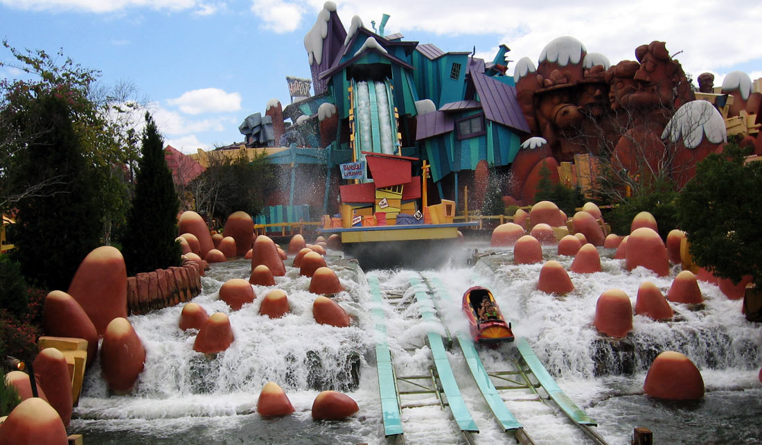 Dudley do-rights Ripsaw Falls - Islands of Adventure