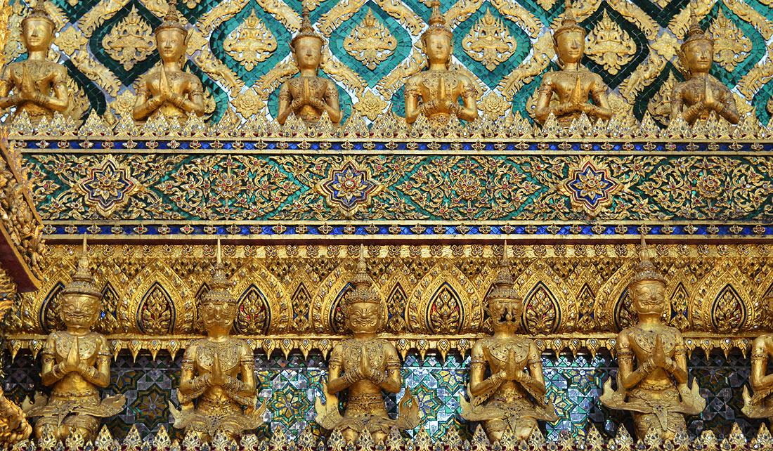 Gran Palacio de Bangkok - Detalle
