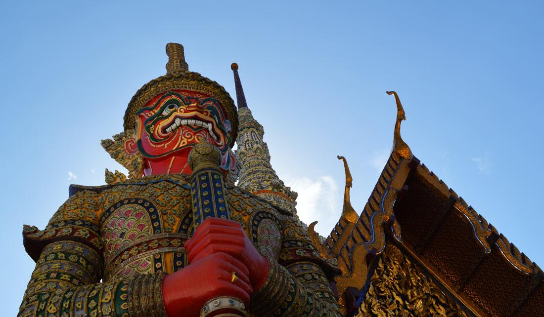 Guardianes del Gran Palacio de Bangkok