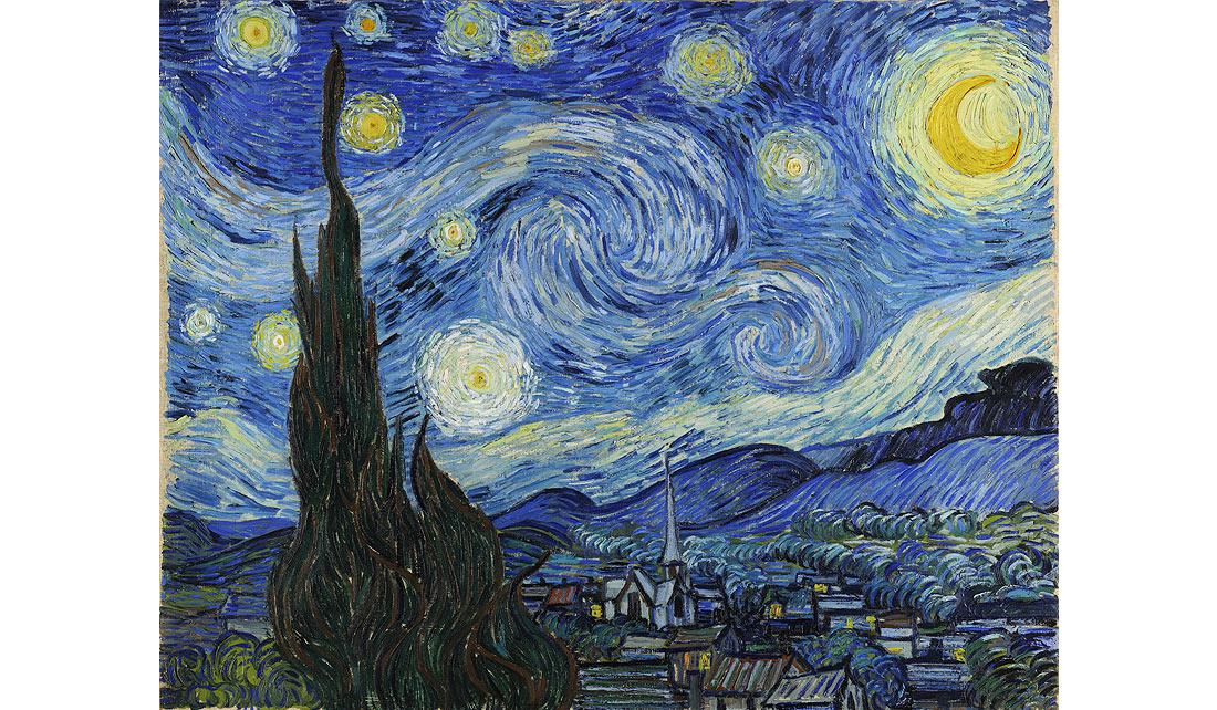 """La noche estrella"" de Vincent van Gogh - Musee d'Orsay"