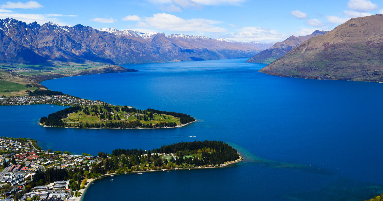 Queenstown - Vistas desde Ben Lomond Mountain