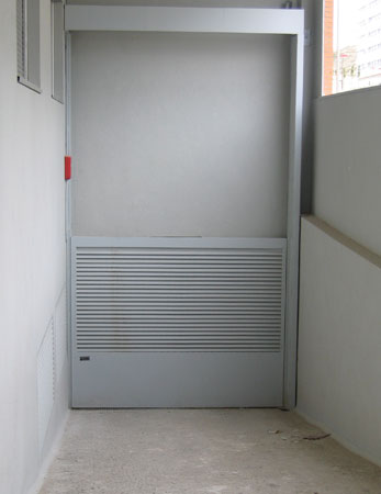 puertas campos - guillotina