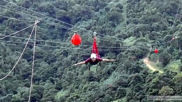 Image result for el monstruo zipline