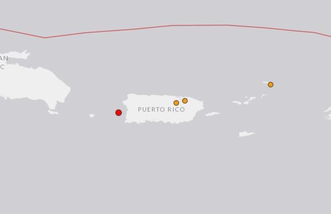 Se siente leve temblor en el oeste de Puerto Rico
