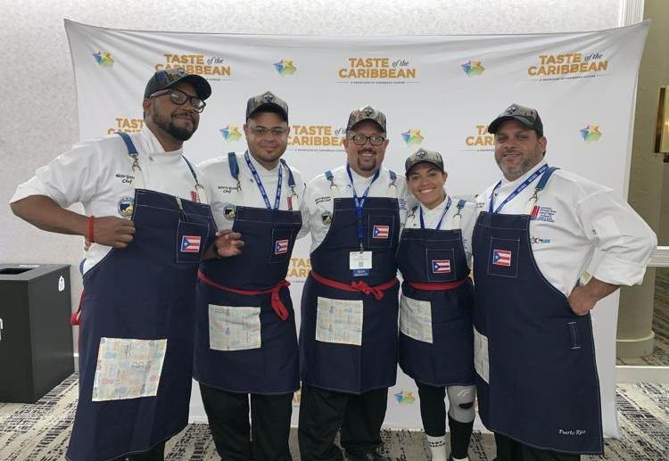Equipo Culinario de Puerto Rico: listos para ganar