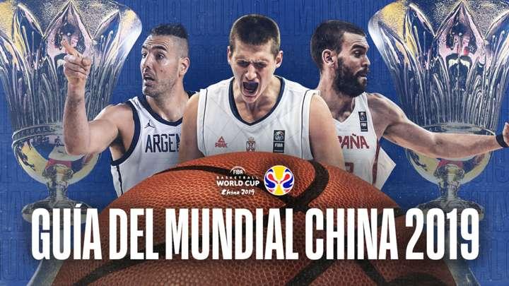 Guía del Mundial de baloncesto FIBA 2019: grupos, plantillas, jugadores, partidos y más