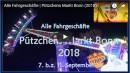 Alle Fahrgeschäfte auf Pützchens Markt Bonn 2018