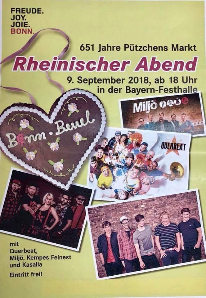 Rheinischer Abend auf Pützchens Markt 2018 in der Bayern Festhalle