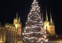 168. Erfurter Weihnachtsmarkt mit rund 1,75 Millionen Besuchern