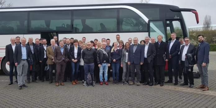 Erfurter Wirtschaftsdelegation auf der Hannover Messe 2019