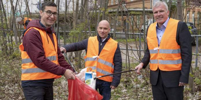 Aufruf zum Frühjahrsputz in der Landeshauptstadt Erfurt