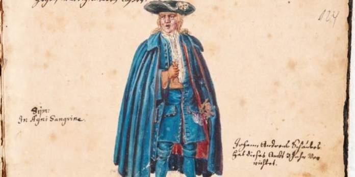 """Vortragsreihe """"Erfurt und das Bier"""": Sebastian Ringeis schaut den Erfurter Walpurgisherren und Bierrufern des 17./18. Jahrhunderts ins Stammbuch"""
