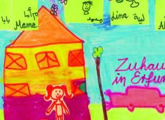 """Sonderausstellung im Stadtmuseum: """"Zu Hause in Erfurt. Kinderzeichnungen aus Erfurt und aller Welt"""""""