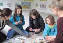 """Kunstworkshop """"Farbrausch"""" für Kinder und Jugendliche am Samstag in der Adolf-Hölzel-Ausstellung"""