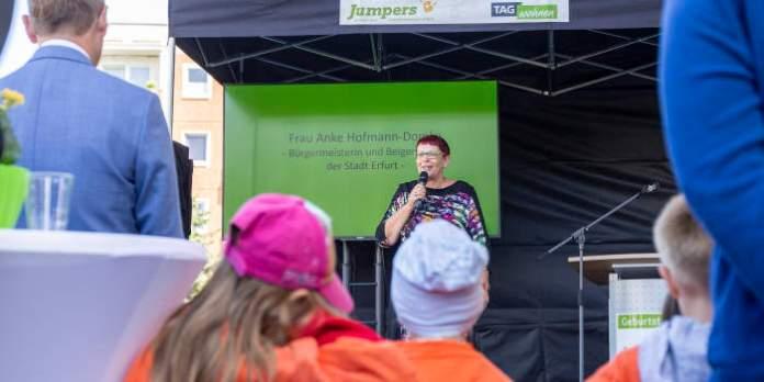 Bei Jumpers finden Kinder Hoffnungsorte – Anke Hofmann-Domke zu Gast am Drosselberg