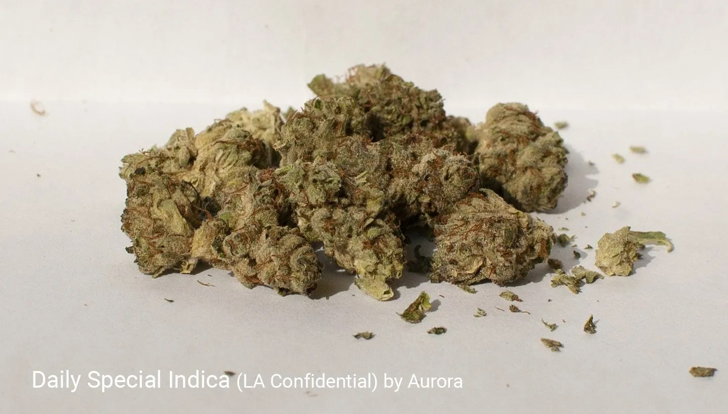 19.2% THC LA Confidential by Aurora