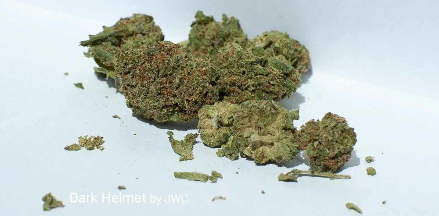 19.88% THC Dark Helmet by JWC
