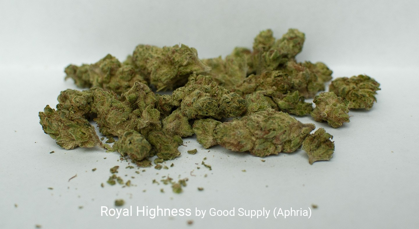 21.98% THC Royal Highness by Good Supply