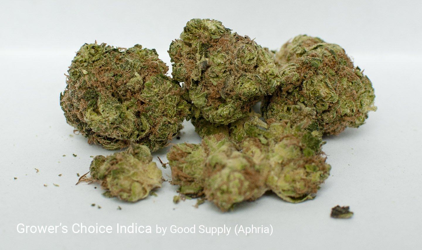 18.52% THC Grower's Choice Indica by Good Supply