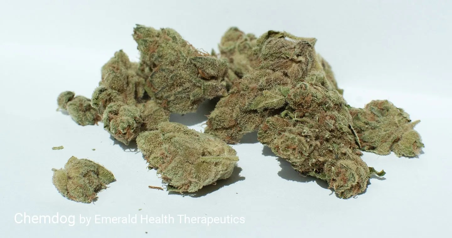 20.5% THC Chemdog by Emerald Health Therapeutics