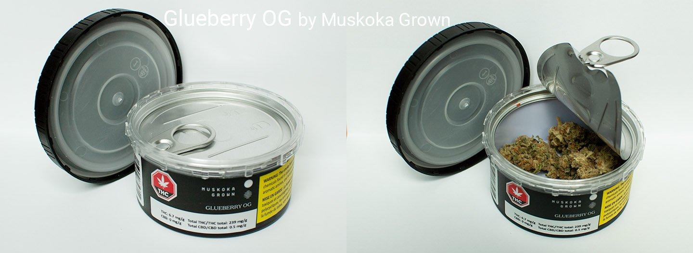 23.9% THC Glueberry OG by Muskoka Grown