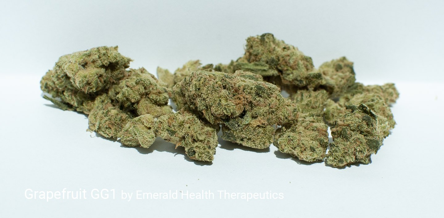21.2% THC Grapefruit GG1 by Emerald Health Therapeutics