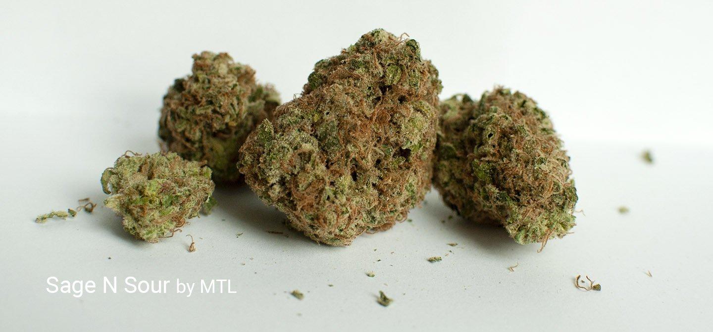 25.28% THC Sage N Sour by MTL
