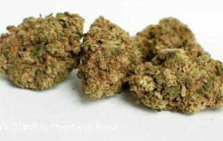 21.52% THC Grandpa's Stash by Thumbs Up Brand