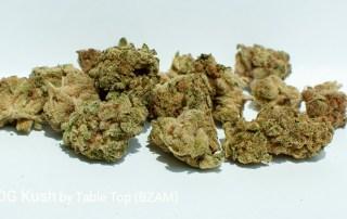 19.42% THC 90's OG Kush by Table Top