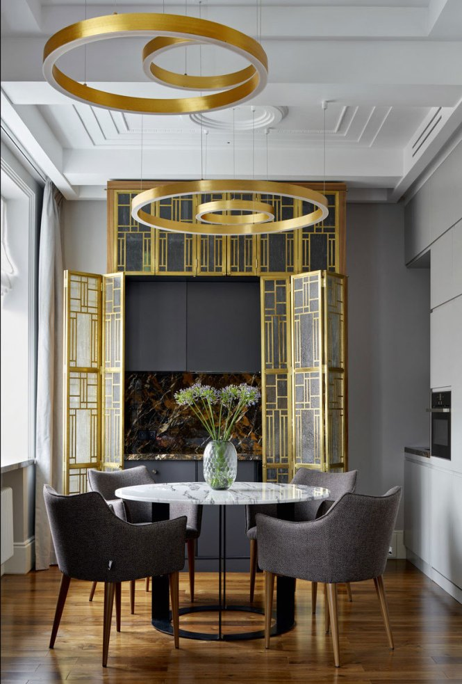 Stylish Design With Art Deco Touches In