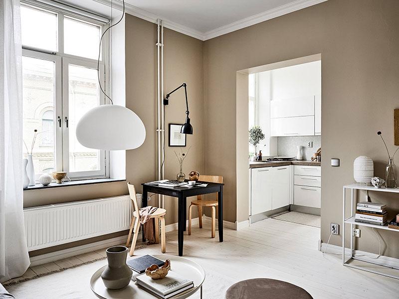 квартиры маленькие в скандинавском стиле фото