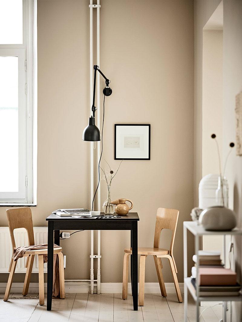 скандинавский стиль для маленькой квартиры