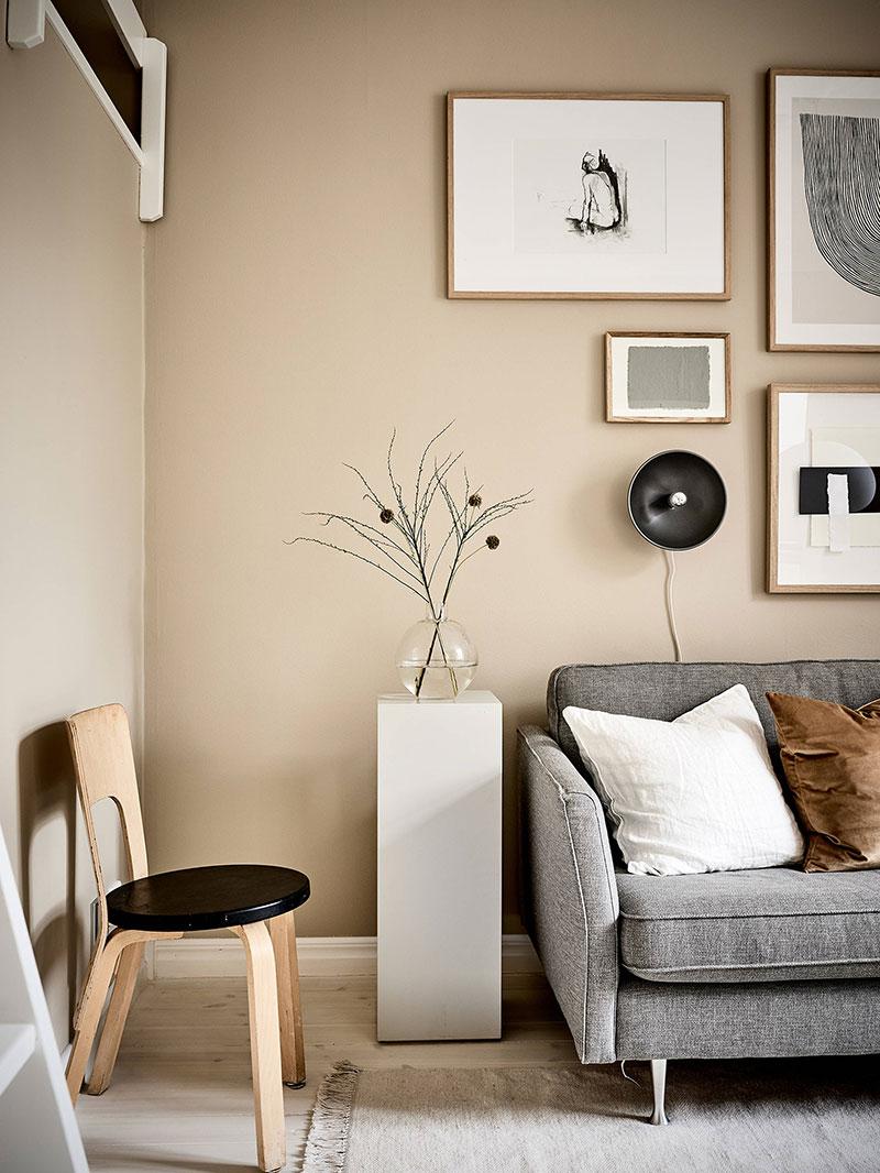 скандинавский стиль в интерьере маленьких квартир