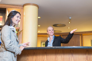 lavoro Receptionist Hotel