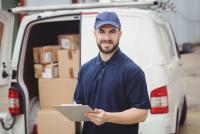 lavoro per autista di furgone consegnatario